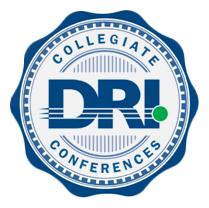 DRI Collegiate Conference