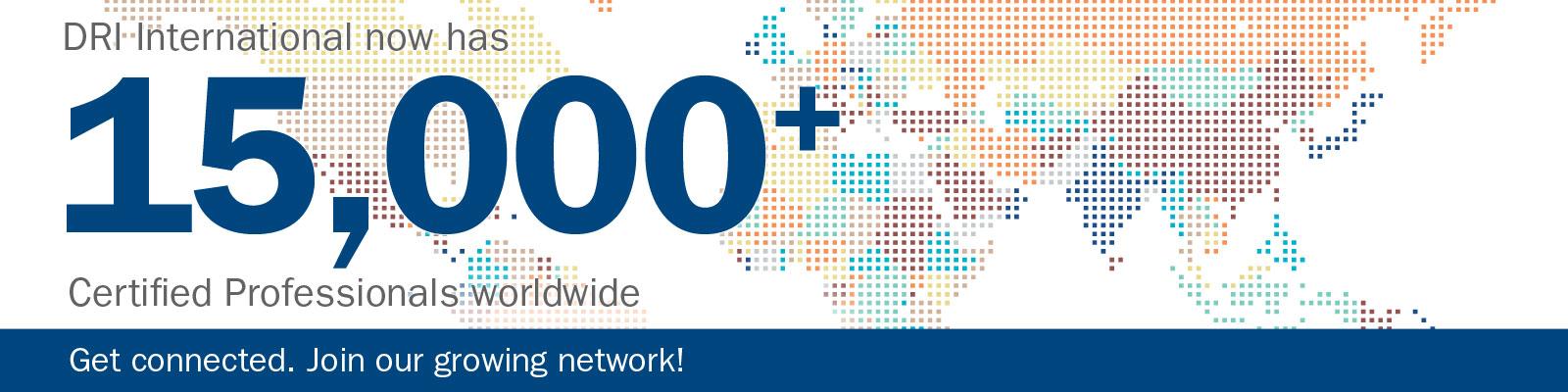 15000+ Certified Professionals Worldwide