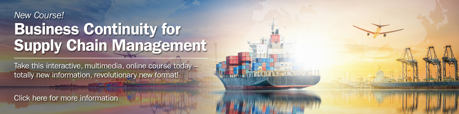 Business Continuity for Supply Chain Management