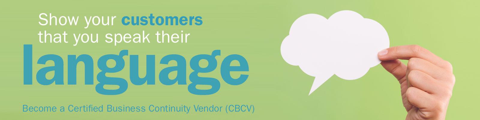 Become a CBCV!