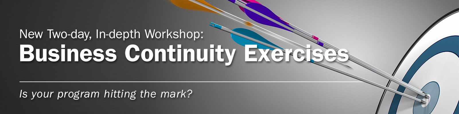 New Workshop: Business Continuity Exercises