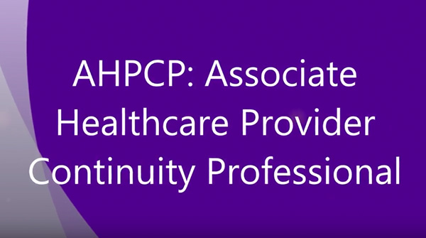AHPCP Certification Image